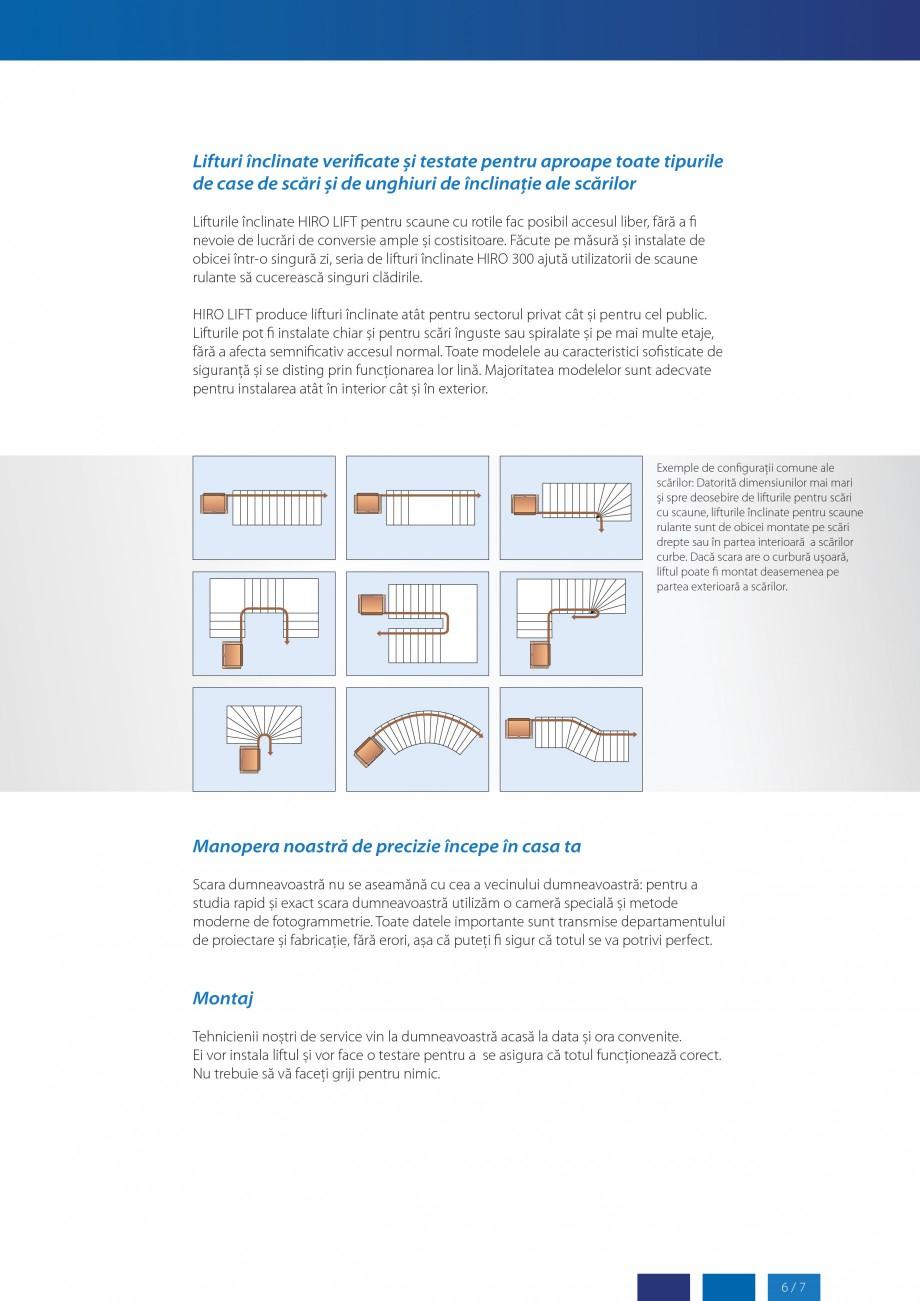 Pagina 7 - Lifturi (servoscara) si platforme pentru persoane cu dizabilitati HIRO LIFT HIRO 160,...