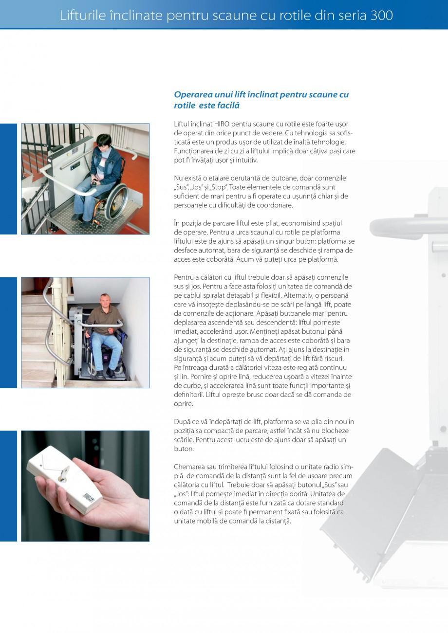 Pagina 8 - Lifturi (servoscara) si platforme pentru persoane cu dizabilitati HIRO LIFT HIRO 160,...