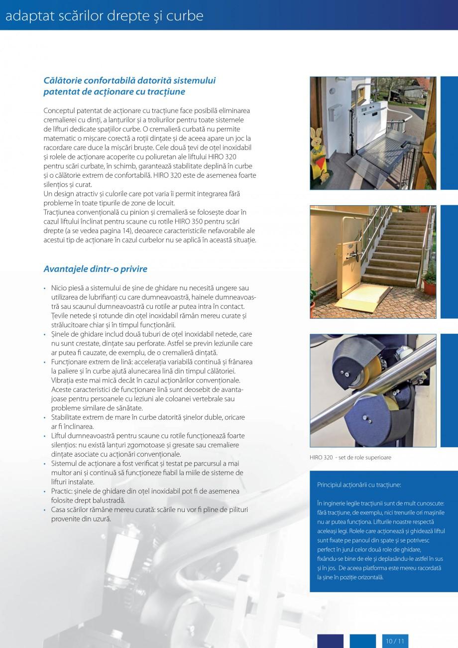 Pagina 11 - Lifturi (servoscara) si platforme pentru persoane cu dizabilitati HIRO LIFT HIRO 160,...