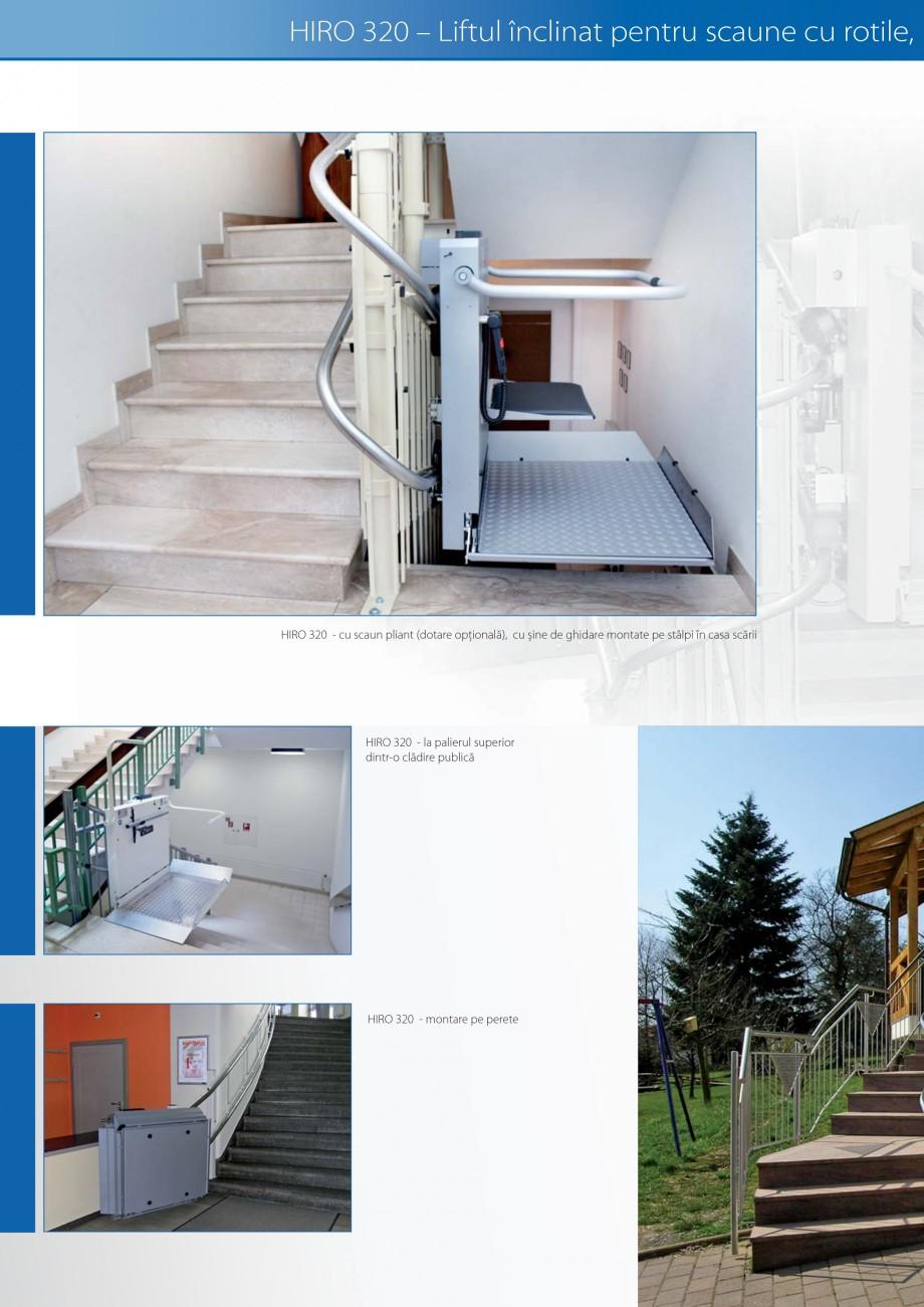 Pagina 12 - Lifturi (servoscara) si platforme pentru persoane cu dizabilitati HIRO LIFT HIRO 160,...