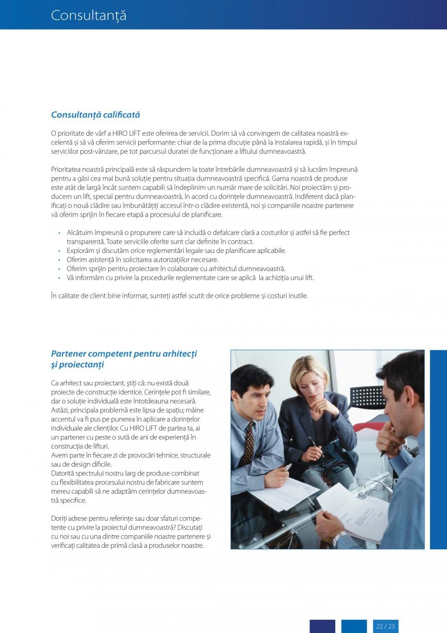 Pagina 23 - Lifturi (servoscara) si platforme pentru persoane cu dizabilitati HIRO LIFT HIRO 160,...