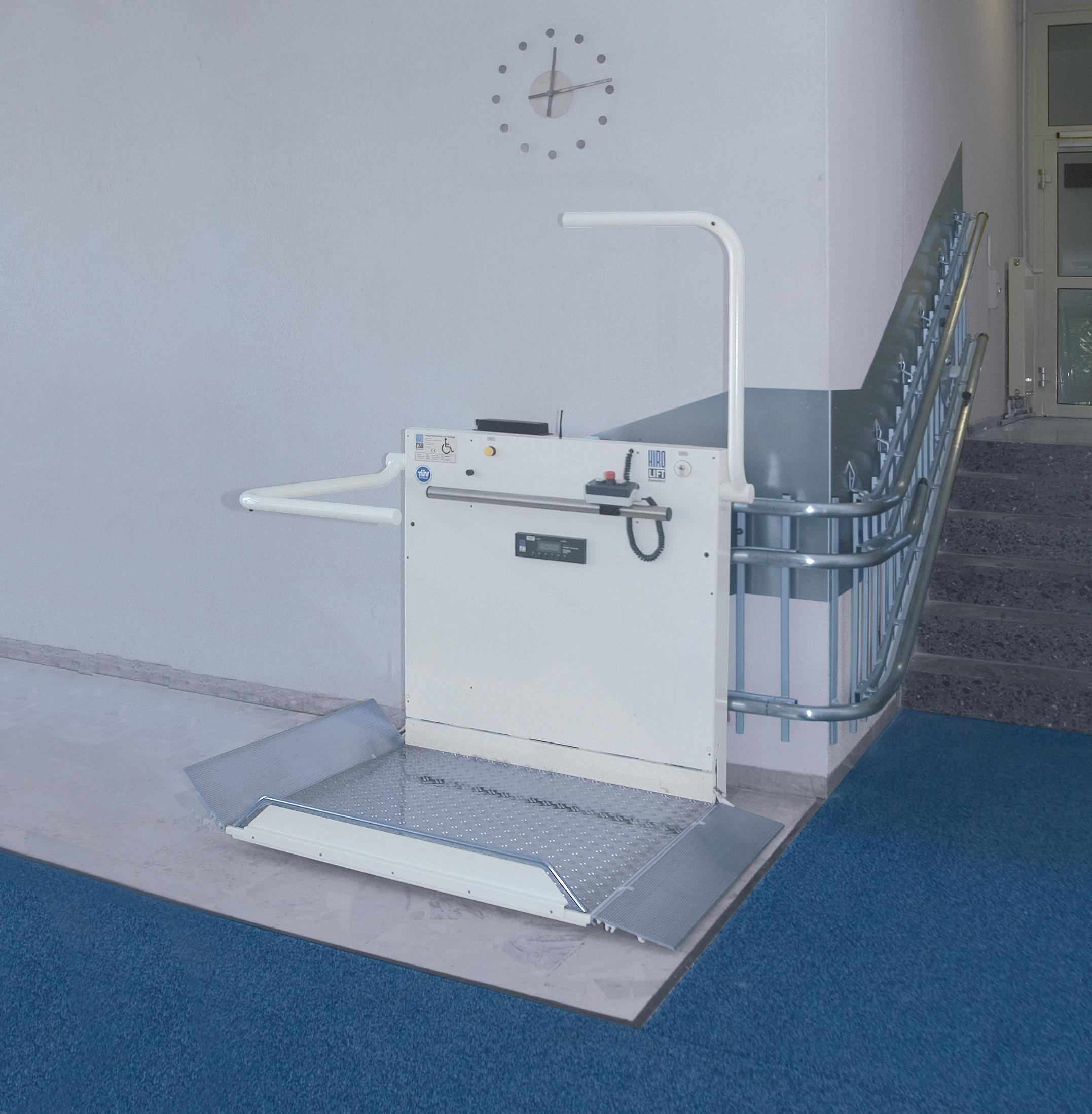 Platforma inclinata pentru persoane cu dizabilitati HIRO 320 - 1 HIRO LIFT - Poza 1