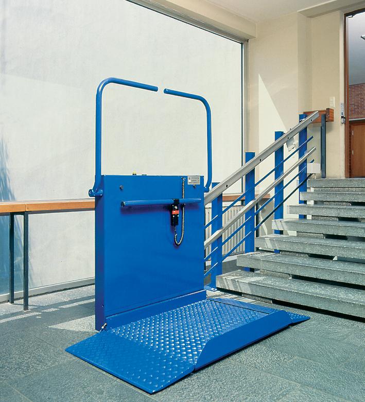 Platforma inclinata pentru persoane cu dizabilitati HIRO 320 - 3 HIRO LIFT - Poza 3