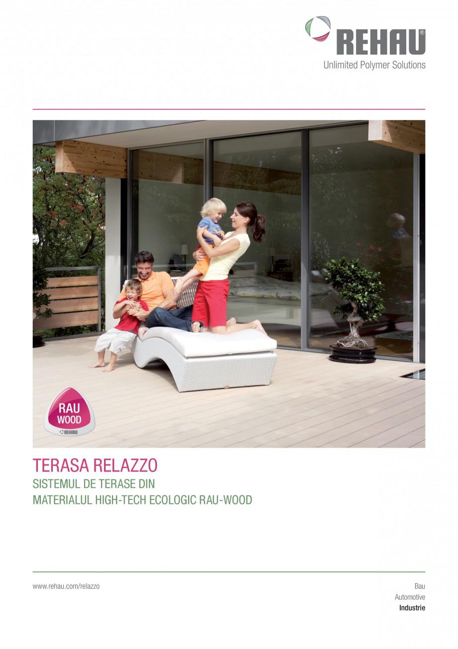 catalog brosura sistemul de terase din materialul high. Black Bedroom Furniture Sets. Home Design Ideas