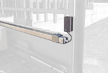 Sistem mecanic de infasurare cablu AV Accesorii pentru usi automate
