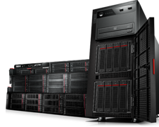 Server pe care ruleaza aplicatiile de management Off-Street Sisteme automate de parcare