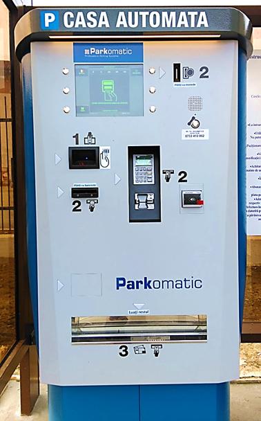 Sistem de plata automata Off-Street Sisteme automate de parcare