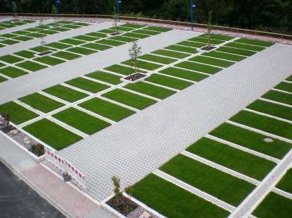 Pavaj ecologic Ecoraster - vedere de ansamblu Ecoraster® E50, Ecoraster® E40, Ecoraster® E30  Pavaje ecologice