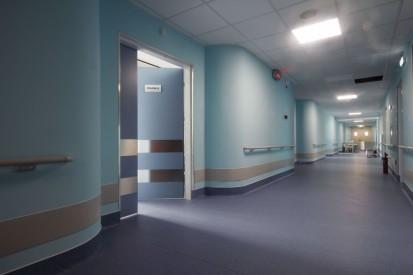 Usa medicala KADRA la Spitalul Gomoiu TORMED S Usa batanta pentru saloane medicale