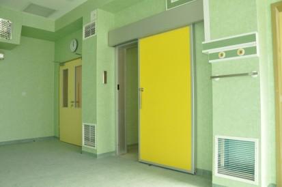 Detaliu - usi de spital ermetice TORMED  ER  Usi de spital ermetice automate