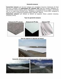 Geotextile netesute