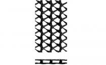 Geosintetice - Georetele Georetele de la Geocom sunt structuri bistratificate sau tristratificate cu profil intermediar inalt, din PEHD destinate lucrarilor de drenaj sau georetele tesute impletite din fibre naturale de iuta sau cocos.