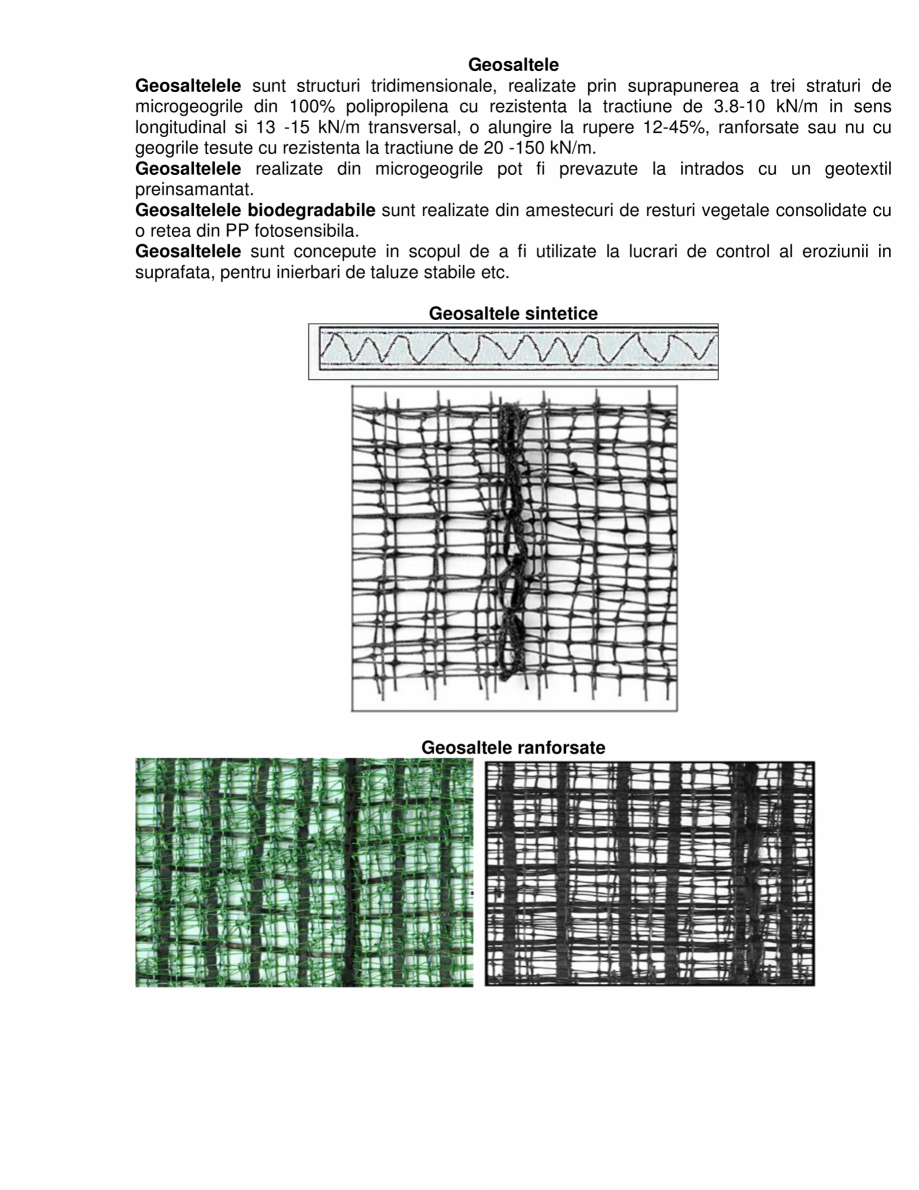 Pagina 1 - Geosaltele  GEOCOM TRADING&CONSULTING TRISTRATIFICATE, TRISTRATIFICATE RANFORSATE,...