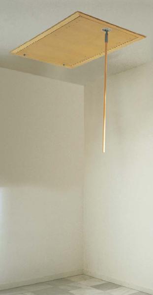 Capacul scarii ALLUMIN Scari retractabile metalice