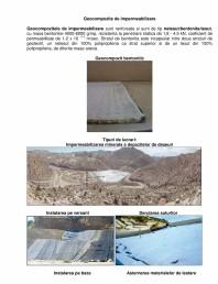 Geocompozite de impermeabilizare