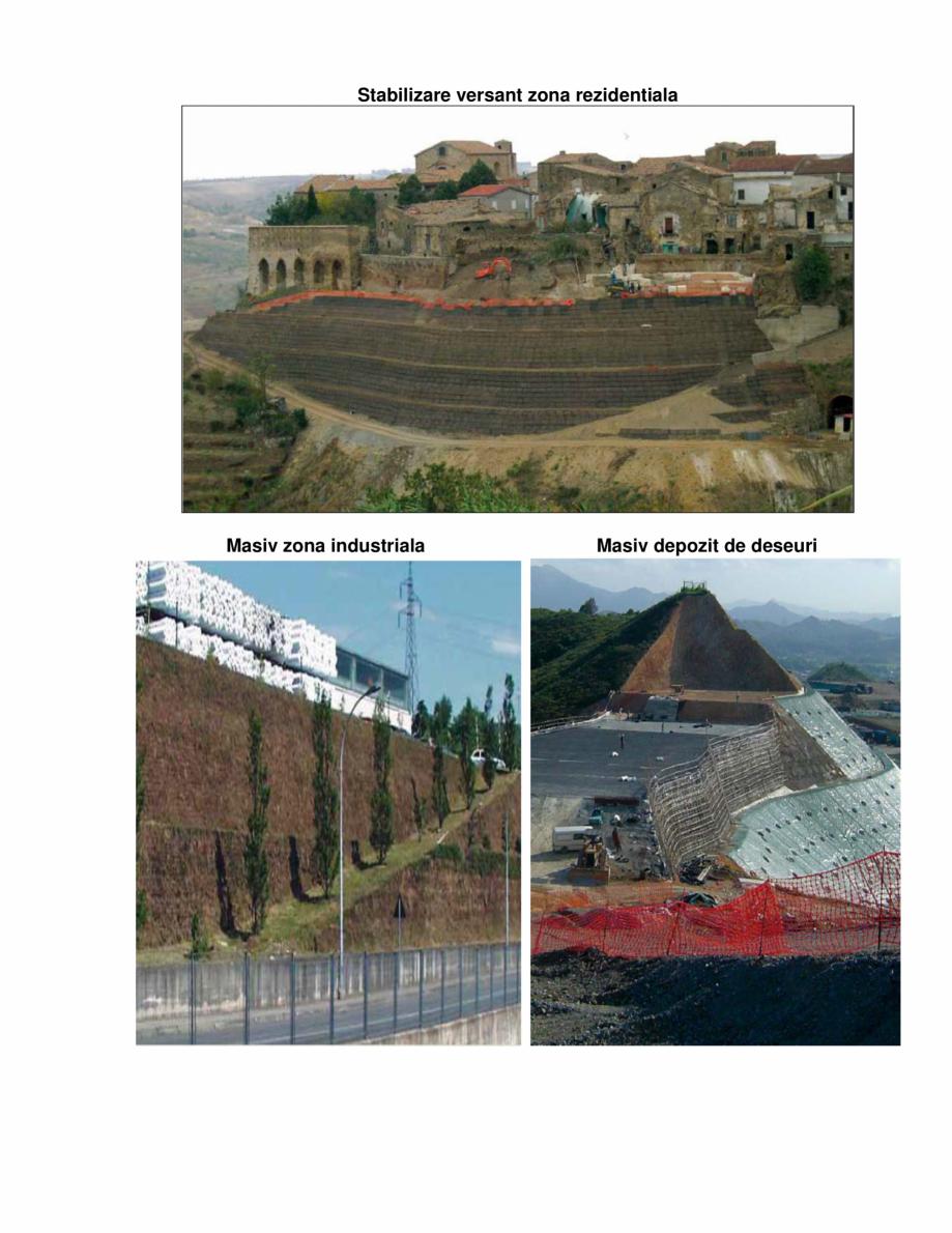 Lucrari, proiecte Geogrile monodirectionale  GEOGRILE MONODIRECTIONALE GEOCOM TRADING&CONSULTING Geosintetice - Geogrile monodirectionale - geogrile monoetirate Geocom Trading&Consulting SRL  - Pagina 4