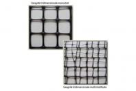 Geogrile tridimensionale pentru reducerea grosimii straturilor de umplutura