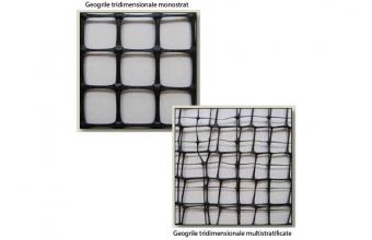 Geosintetice - Geogrile tridimensionale