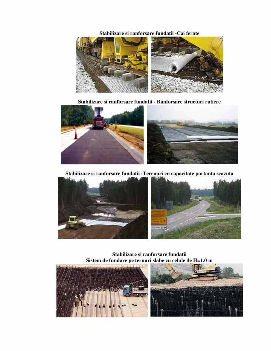 Pagina 2 - Geocompozite de ranforsare  GEOCOM TRADING&CONSULTING GEOCOMPOZITE RANFORSARE Lucrari...