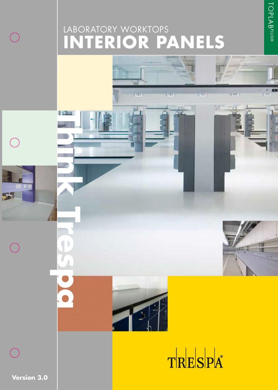 Pagina 1 - Placaje HPL pentru realizarea de mobilier pentru laborator - TOPLAB TRESPA TOPLAB PLUS...