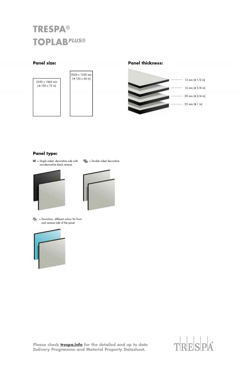Pagina 7 - Placaje HPL pentru realizarea de mobilier pentru laborator - TOPLAB TRESPA TOPLAB PLUS...