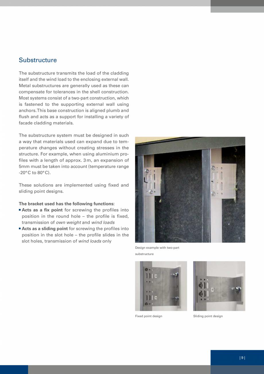 Pagina 8 - Sisteme de fixare a placarii  VECO Catalog, brosura Engleza all using anchors. This base ...