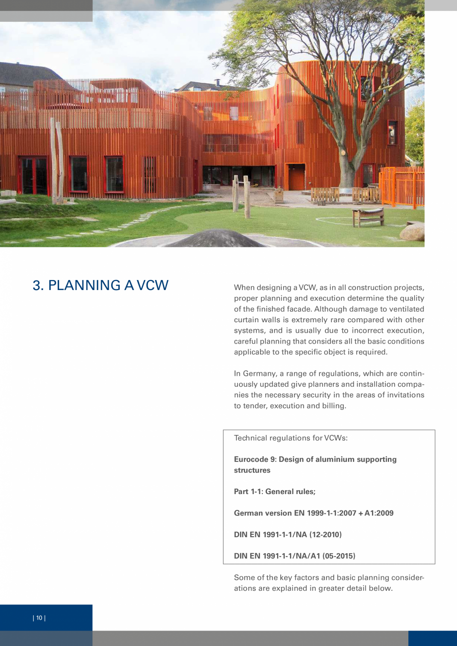 Pagina 9 - Sisteme de fixare a placarii  VECO Catalog, brosura Engleza  designing a VCW, as in all...
