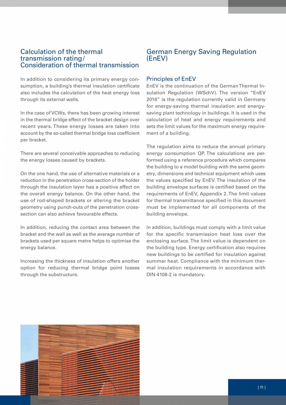 Pagina 10 - Sisteme de fixare a placarii  VECO Catalog, brosura Engleza (EnEV)  In addition to...