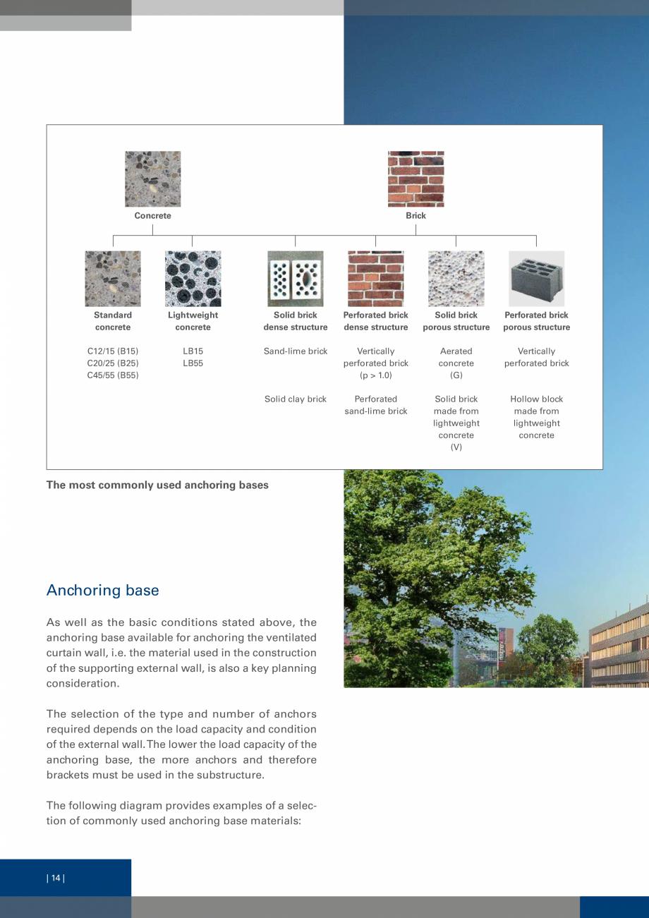 Pagina 13 - Sisteme de fixare a placarii  VECO Catalog, brosura Engleza chmark is the specific...