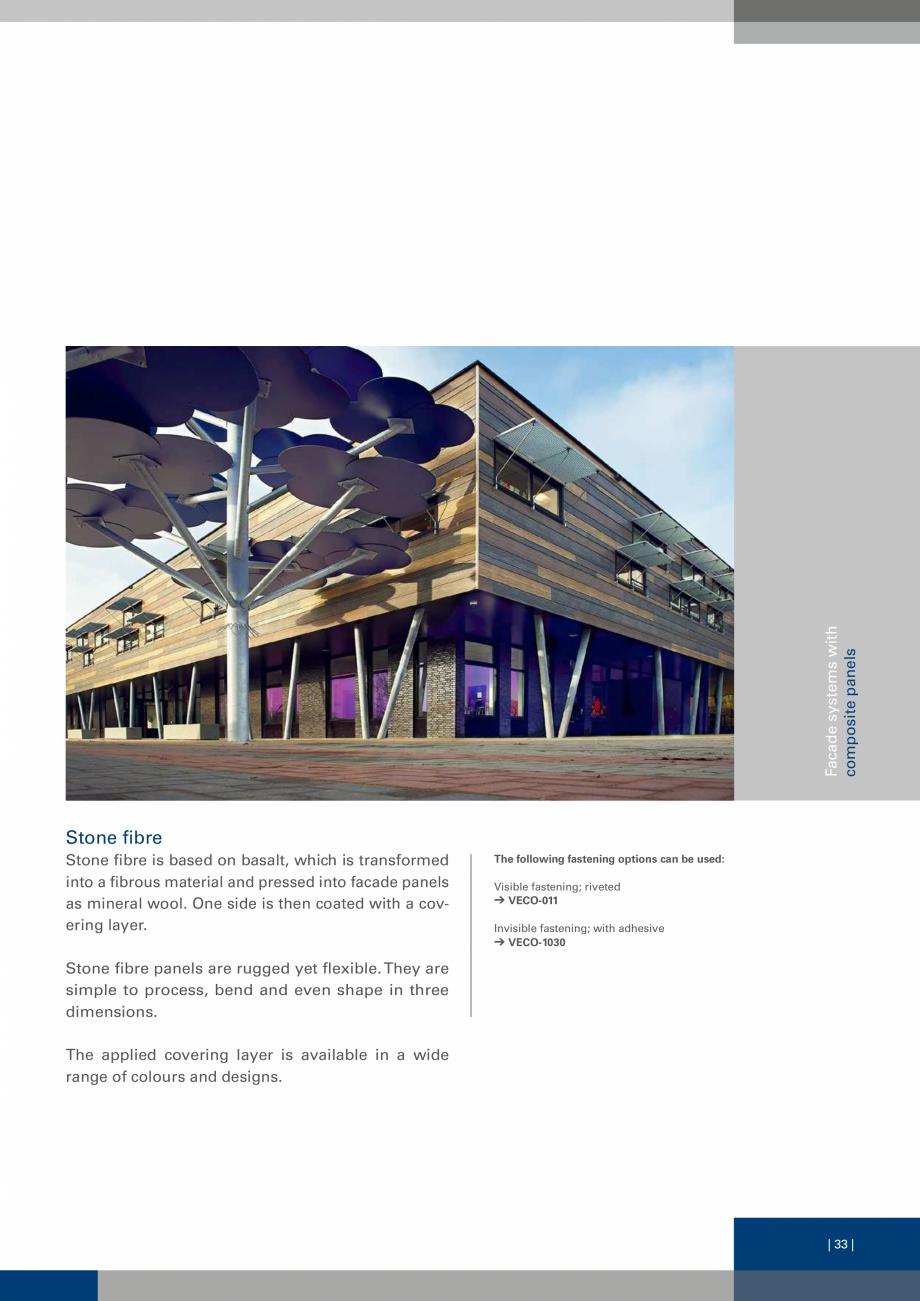 Pagina 33 - Sisteme de fixare a placarii  VECO Catalog, brosura Engleza 0-V Facade anchor, SDP-KB...