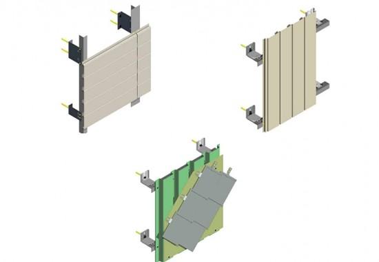 Sisteme de fixare a placarii pentru fatade ventilate VECO