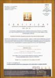 Certificat de conformitate al controlului productiei in fabrica - SRAC-CPR Deva MACON