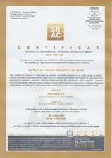Certificare CPF - elemente de fundatii MACON