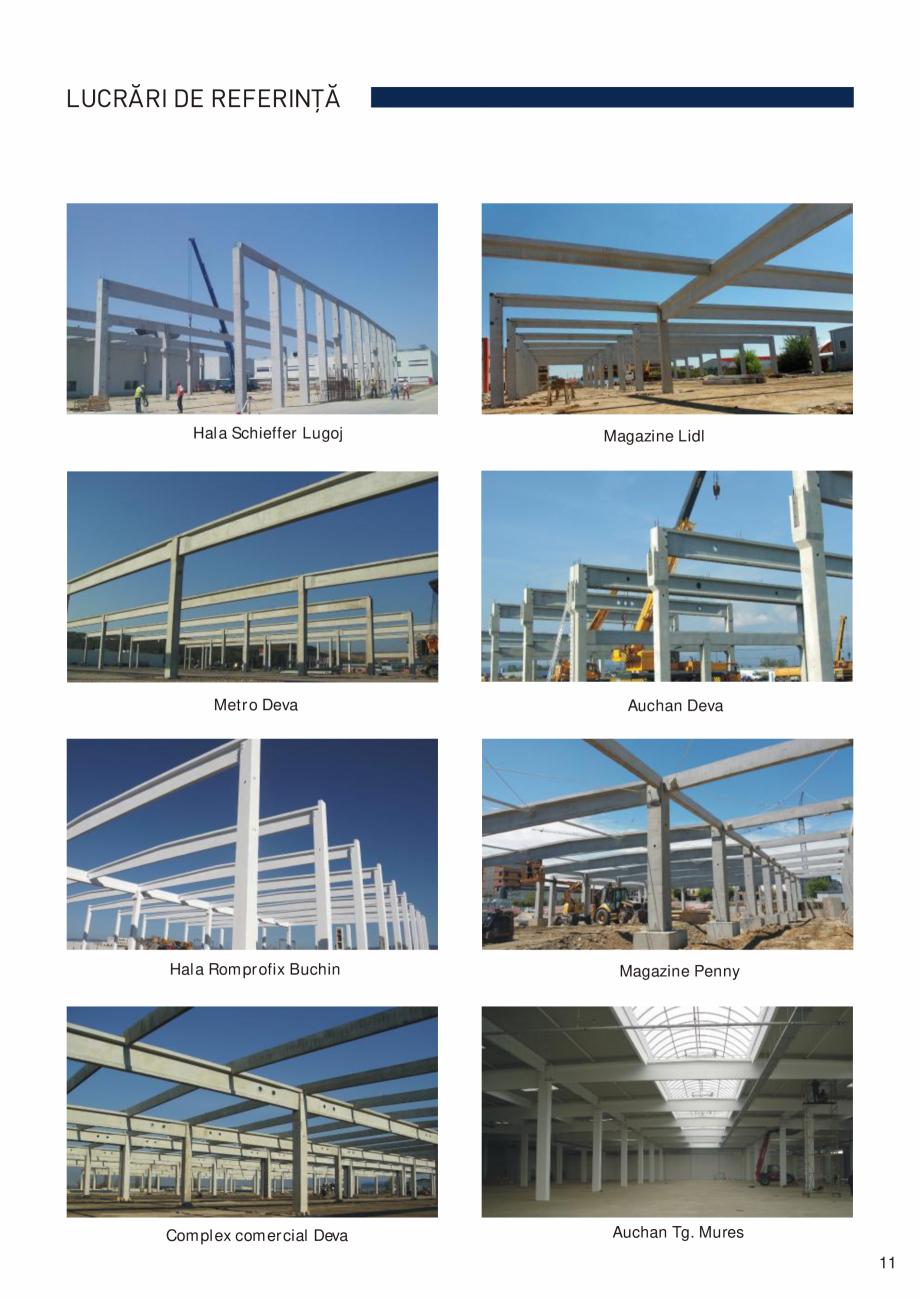Pagina 12 - Prefabricate din beton pentru constructii civile si industriale MACON Catalog, brosura