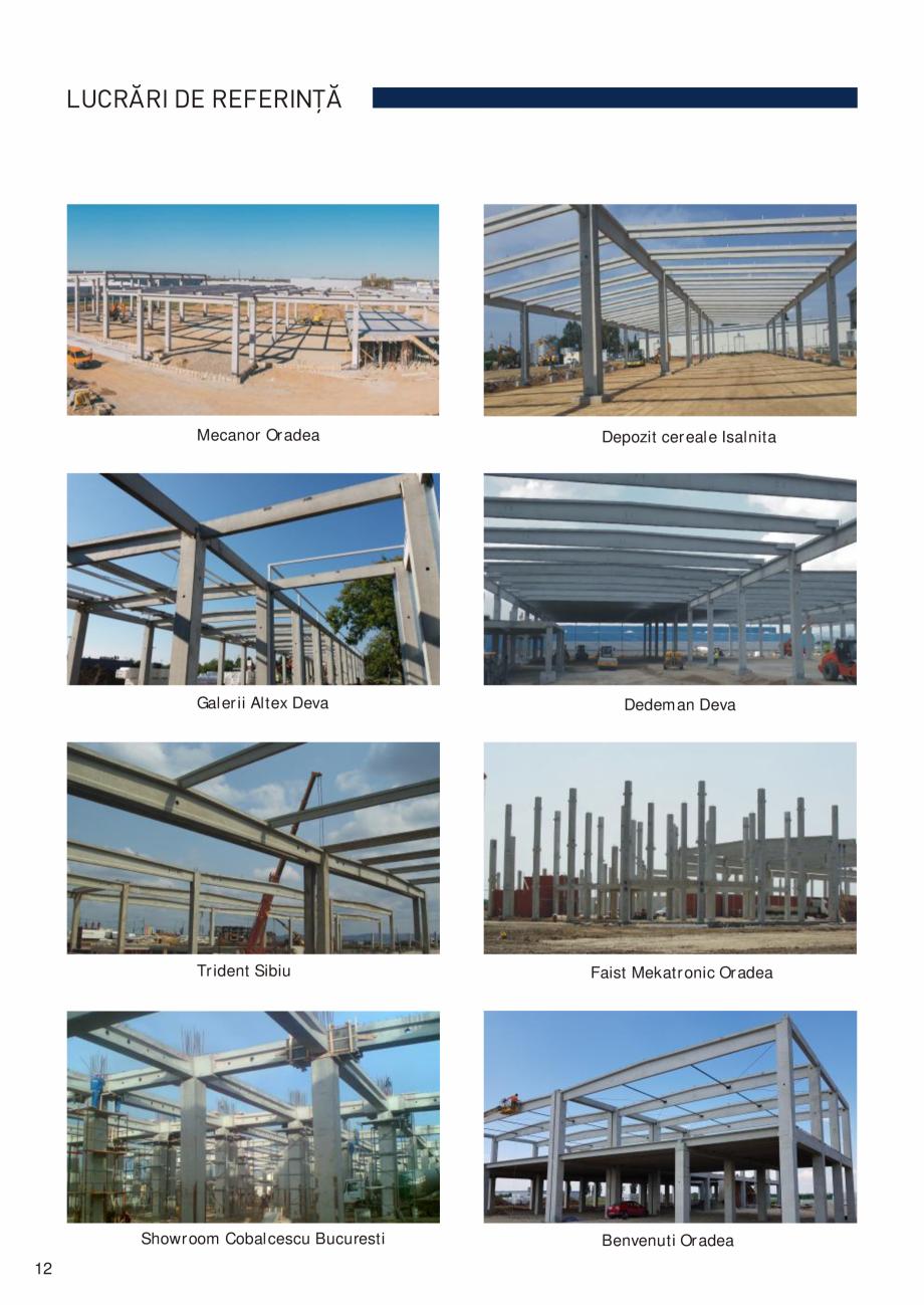 Pagina 13 - Prefabricate din beton pentru constructii civile si industriale MACON Catalog, brosura