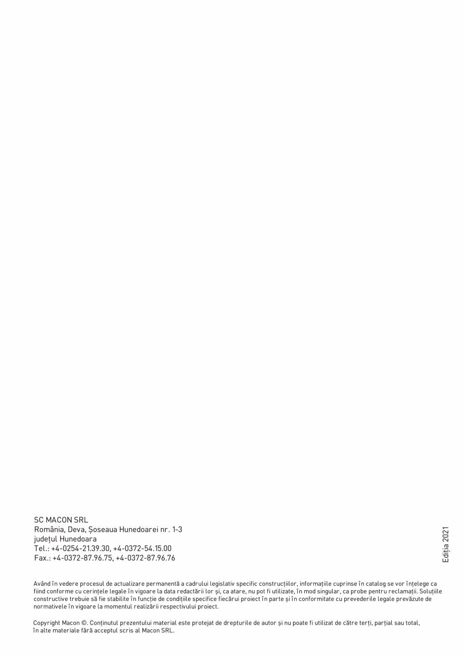 Pagina 14 - Prefabricate din beton pentru constructii civile si industriale MACON Catalog, brosura