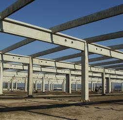 Structuri hale prefabricate din beton MACON