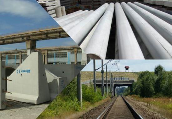 Elemente prefabricate pentru infrastructura feroviara MACON