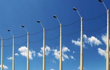 Stalpii din beton pentru linii electrice aeriene