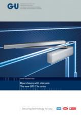 Amortizoare superioare cu glisiera pentru usi G-U BKS