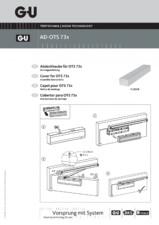Amortizoare cu glisiera pentru usi G-U BKS