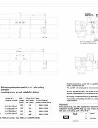Desen tehnic nr. 0-45495-IE - K30 RWA