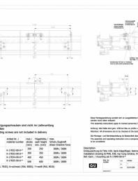 Desen tehnic nr. 0-45497-IE - K30 RWA