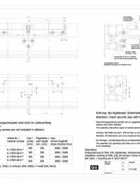 Desen tehnic nr. 0-45494-IE - K30 RWA