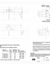 Desen tehnic nr. 0-45522-IE - K30 RWA