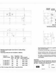 Desen tehnic nr. 0-45521-IE - K30 RWA