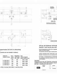 Desen tehnic nr. 0-45526-IE - K30 RWA