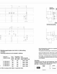 Desen tehnic nr. 0-45527-IE - K30 RWA