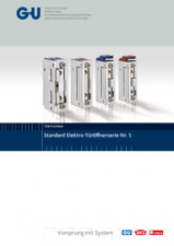 Deschizatoare electrice pentru usi - Nr. 5 G-U BKS