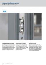 Deschizatoare electrice pentru usi - Nr. 6 G-U BKS